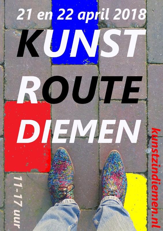 affiche-Kunstroute-Diemen-2018-A4