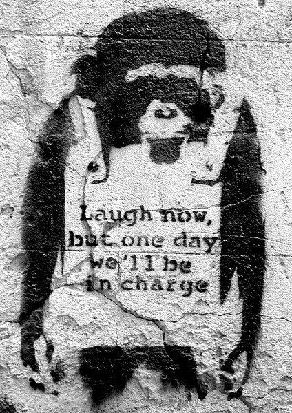 banksy-street-art-chimp-i16343