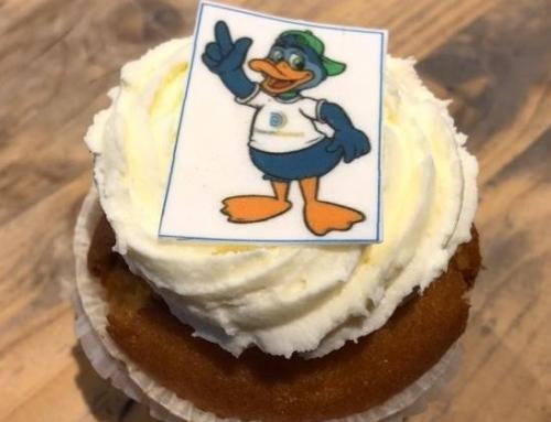 Diemo heeft een eigen cupcake